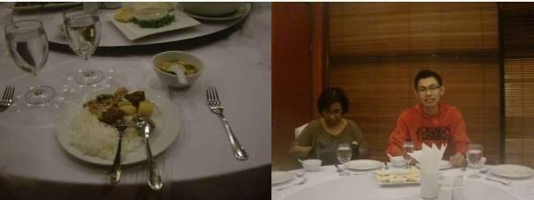 Sekilas menu, bersama Ibu Utami salah salah seorang dosen senior kami