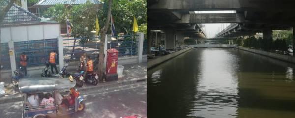 Tuk-tuk dan ojek pilihan transportasi publik, bersihnya sungai di Bangkok